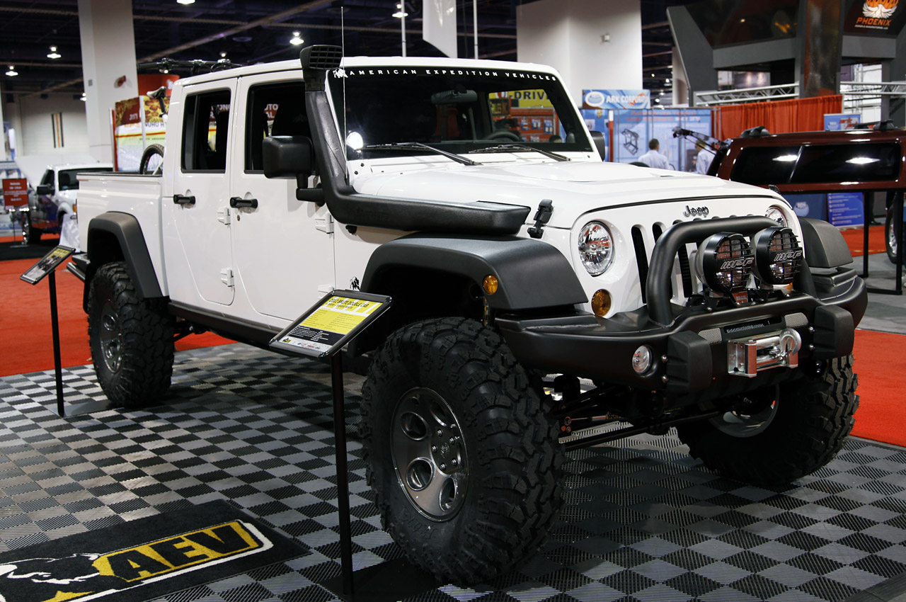 Aev Jeep For Sale >> AEV Wrangler Brute Double Cab - Autoblog