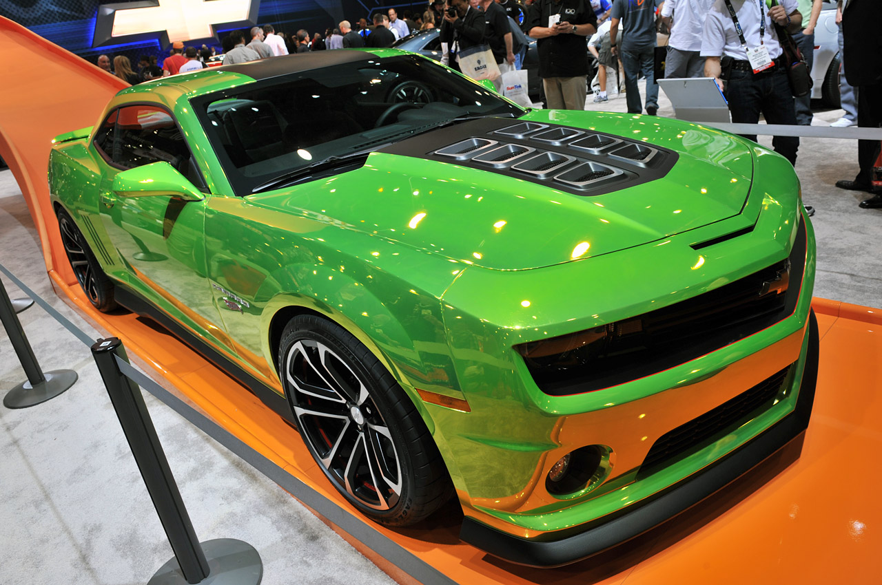 Chevrolet Camaro Hot Wheels Concept Fulfills A Childhood