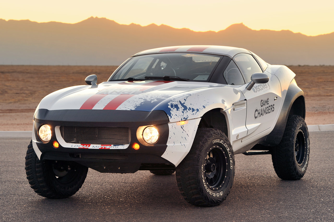 Local Motors Rally Fighter Quick Spin Photo Gallery