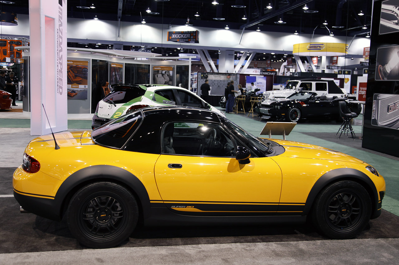 Sema 2011 Mazda Mx 5 Miata Super 20 Concept Photo Gallery