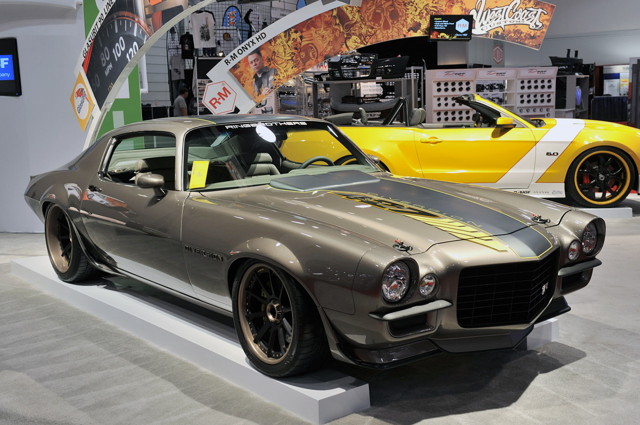 Ring Brothers 1970 Chevrolet Camaro Quot Diversion Quot Autoblog