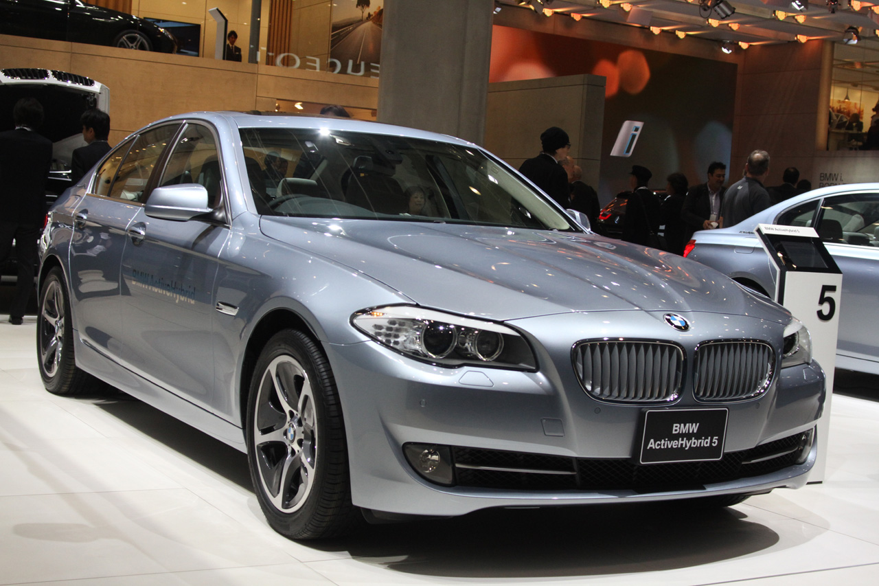 BMW ActiveHybrid 5 might be the ultimate modesty machine ...