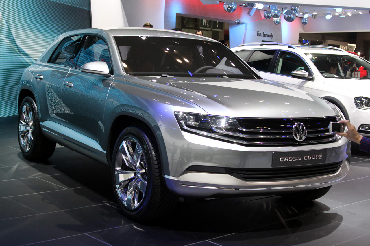 Volkswagen Cross Coupe Concept looks slick, is not a coupe - Autoblog