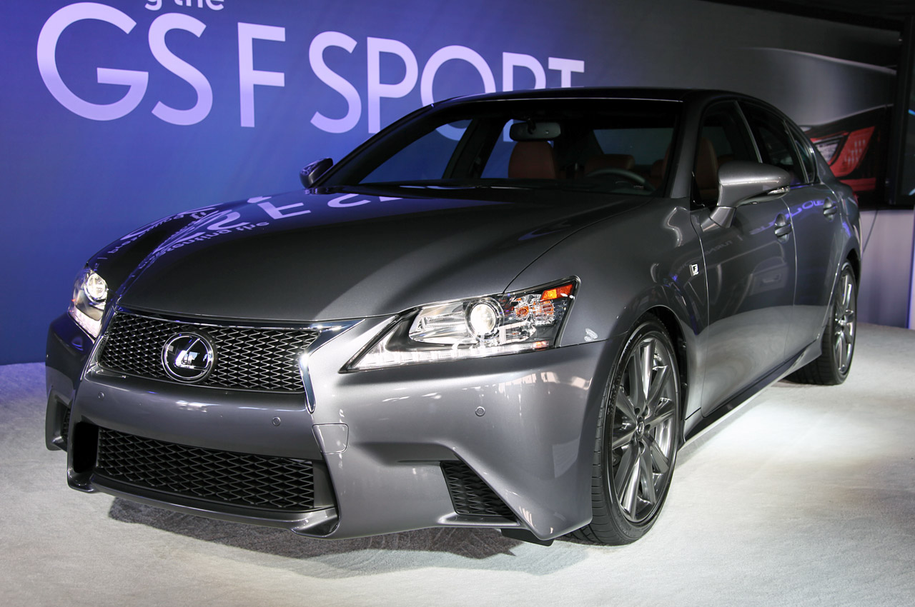 sema: 2013 lexus gs 350 f-sport debut pictures
