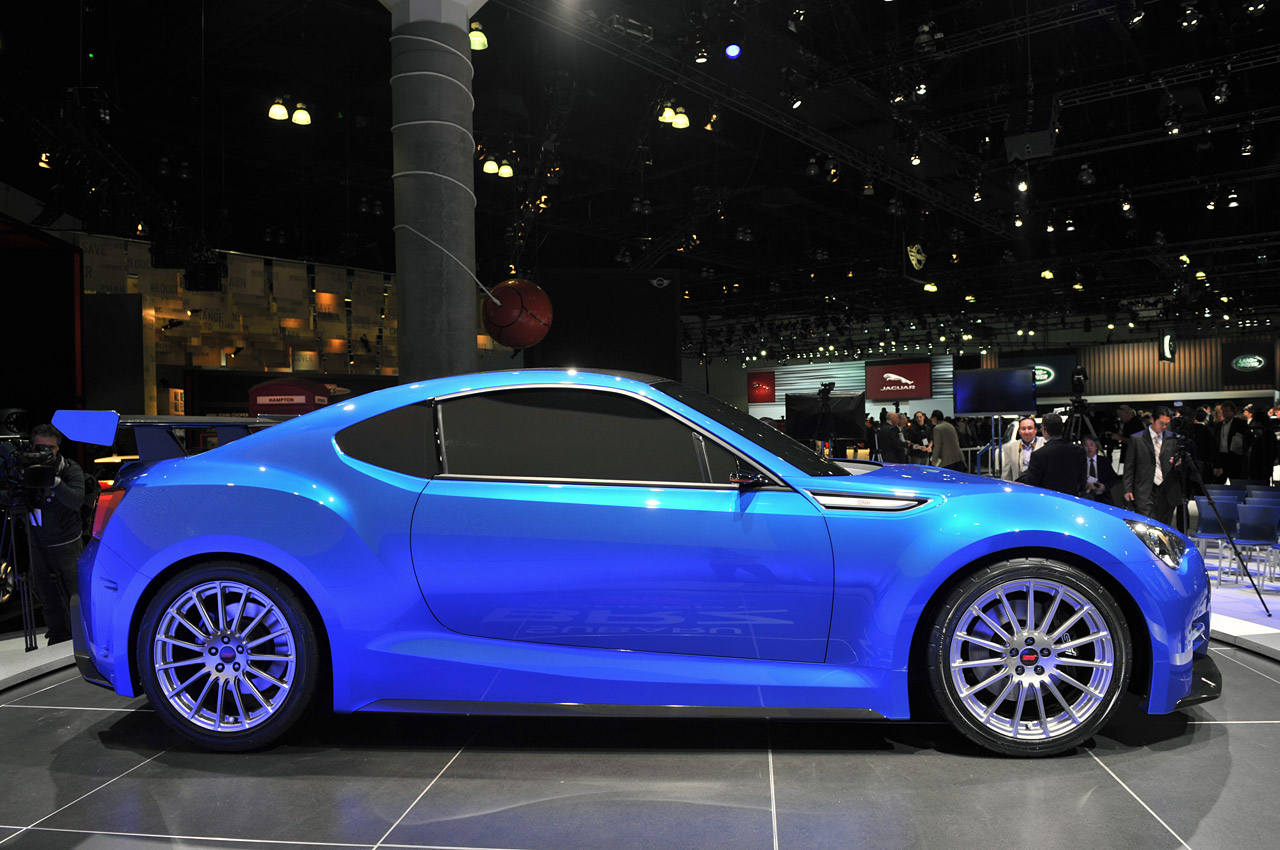 Subaru brz concept sti looks too fast too furious the chicago this image has been resized click this bar to view the full image the original image is sized 1280x850 vanachro Image collections