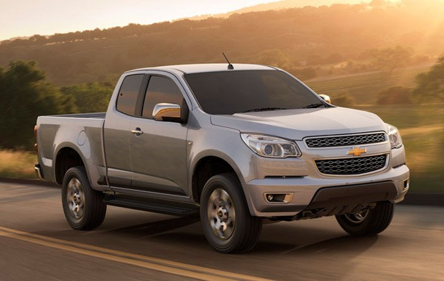 2012 Chevrolet Colorado pickup