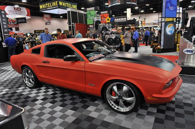 2011 Mustang with 1968 body panels