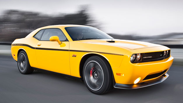 2012 Dodge Challenger SRT Yellow Jacket