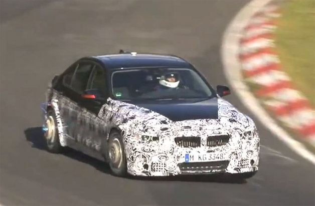 2013 BMW M3 Testing