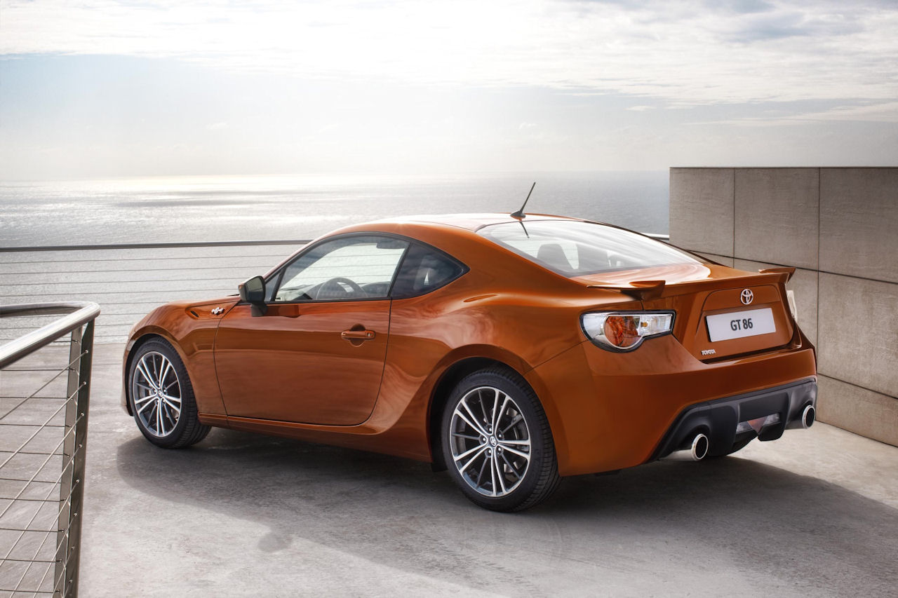Toyota GT86 convertible could debut in March - Autoblog