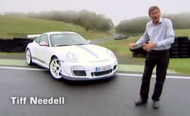 Tiff Needell and the Porsche 911 GT3 RS 4.0