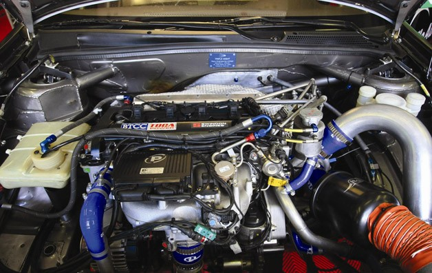 BTCC turbo engine