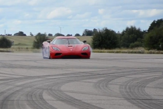 Koenigsegg Agera gets central Guinness World Record for quickest 0-300-0 km/h