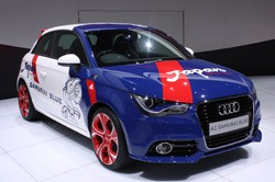 Audi A1 Sportback Five Door Samurai Blue