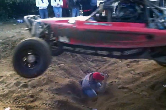 Insane Spectator at the Baja 1000