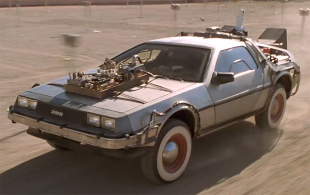 Back to the Future III DeLorean DMC-12