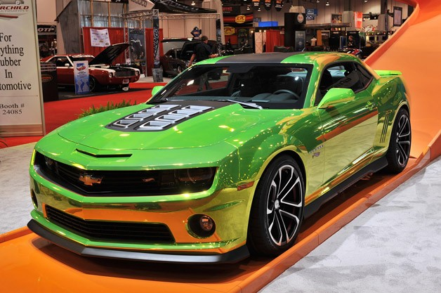 Chevrolet Camaro Hot Wheels Concept fulfills a childhood fantasy