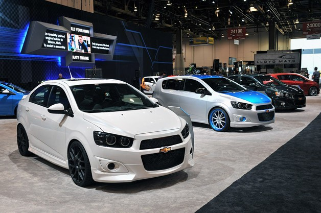 Chevrolet Sonic Concepts at SEMA 2011