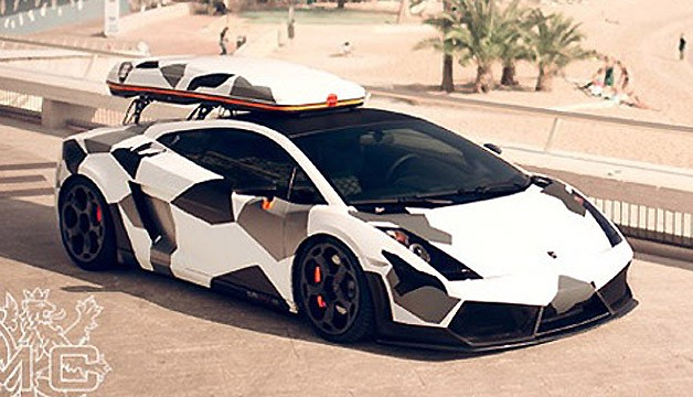 Lamborghini Gallardo by DMC for Jon Olsson
