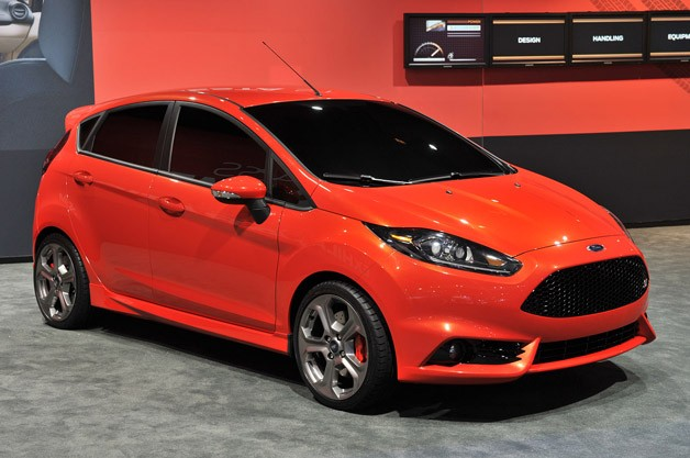 ford fiesta st concept is a five door street tough. Black Bedroom Furniture Sets. Home Design Ideas