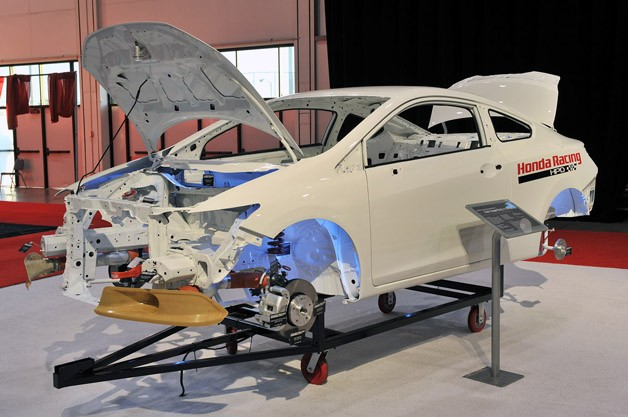 Honda Civic body-in-white