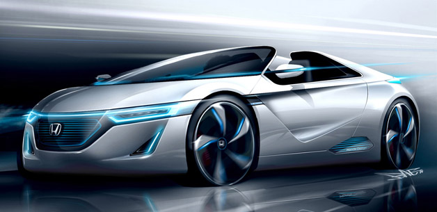 Honda Small Sports EV concept