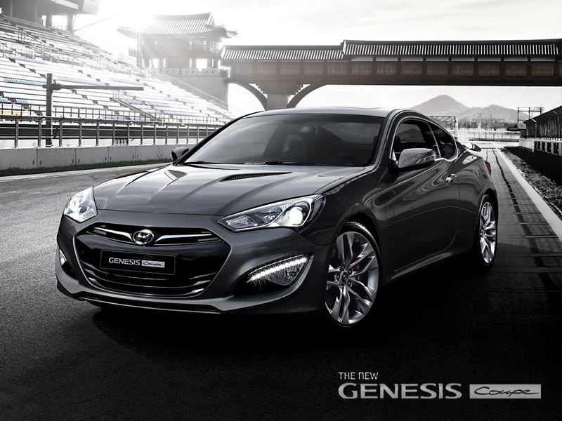 2013 Hyundai Genesis Coupe To Get 350 Hp V6 275 Hp Turbo