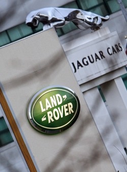 Jaguar Land Rover dealer signs