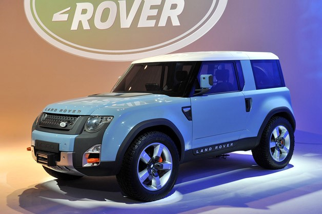 Land Rover DC100 Concept in LA