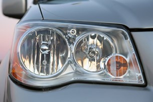 2011 Chrysler Town & Country Touring headlight
