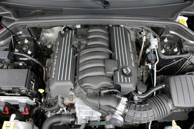 2012 Jeep Grand Cherokee SRT8 engine