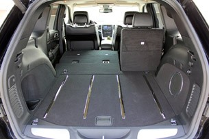 2012 Jeep Grand Cherokee SRT8 rear cargo area