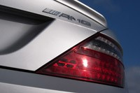 2012 Mercedes-Benz SLK55 AMG taillight