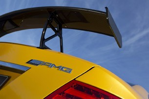 2012 Mercedes-Benz C63 AMG Coupe Black Series rear wing