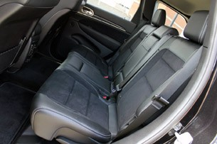 2012 Jeep Grand Cherokee SRT8 rear seats