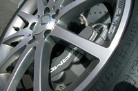 2012 Mercedes-Benz SLK55 AMG wheel detail