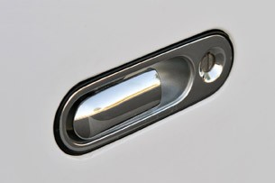 Local Motors Rally Fighter door handle