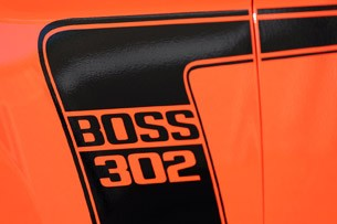 2012 Ford Mustang Boss 302 graphics