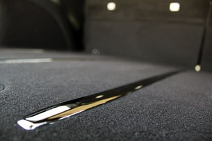2012 Jeep Grand Cherokee SRT8 rear cargo area chrome trim