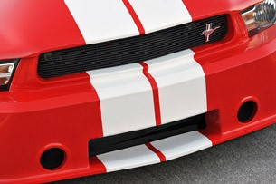 2012 Shelby GTS front fascia