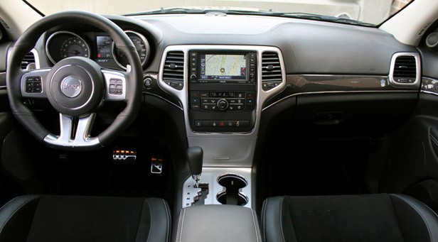 2012 Jeep Grand Cherokee SRT8 Interior ...