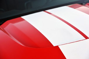 2012 Shelby GTS hood