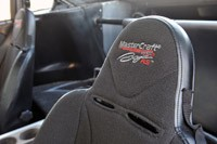 Local Motors Rally Fighter seats