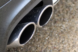 2012 Audi S8 exhaust tips
