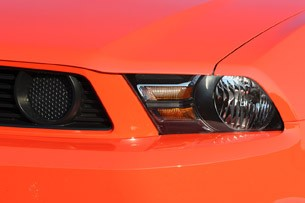 2012 Ford Mustang Boss 302 headlight