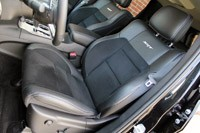 2012 Jeep Grand Cherokee SRT8 front seats