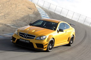 2012 mercedes benz c63 amg coupe black series w video. Black Bedroom Furniture Sets. Home Design Ideas