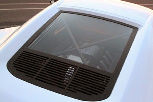 Zenvo ST-1 glass engine cover