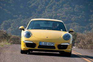 2012 Porsche 911 Carrera S driving