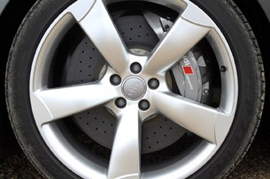 2012 Audi S8 wheel